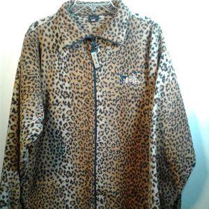 Animal Print Zip-Up Ladies Jacket by USA